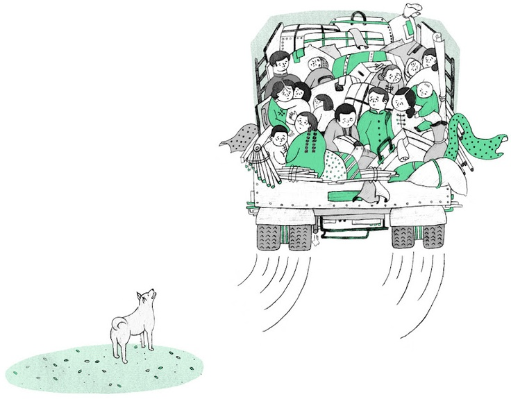 Illustration for children's book:愛.情故事集7