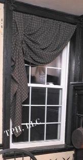 17 Best Images About Primitive Curtains On Pinterest