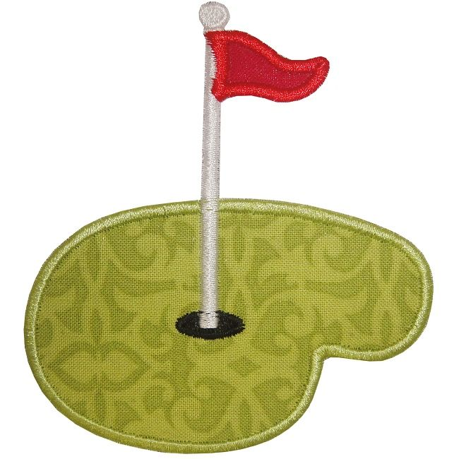 Putting Green Applique