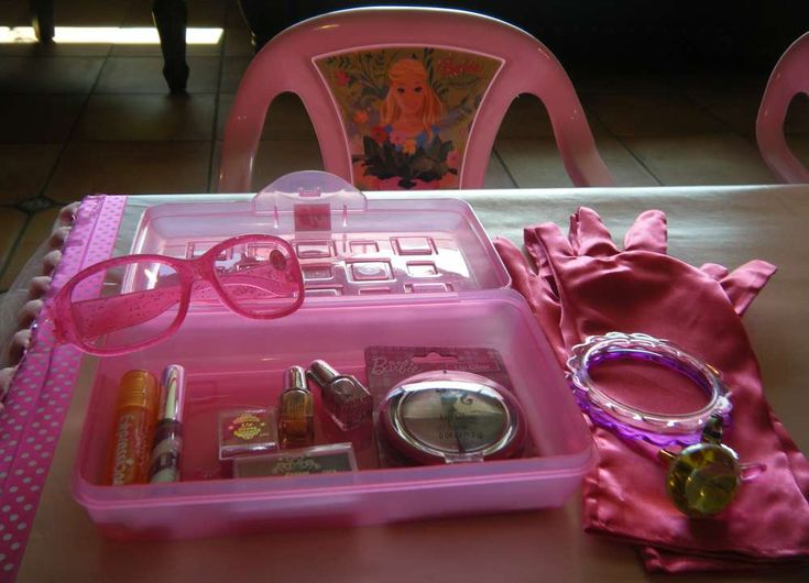 Barbie Makeup Birthday Party Ideas   Photo 5 of 21   Catch My Party
