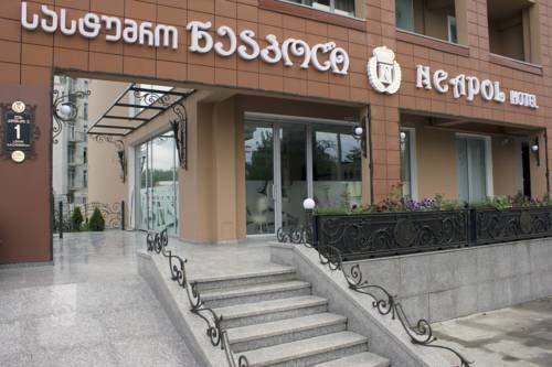 Neapol Boutique Hotel Tbilisi City Neapol Boutique Hotel offers accommodation in Tbilisi City. Guests can enjoy the on-site bar.  Every room at this hotel is air conditioned and features a TV. Rooms have a private bathroom fitted with a shower. Extras include bathrobes and slippers.