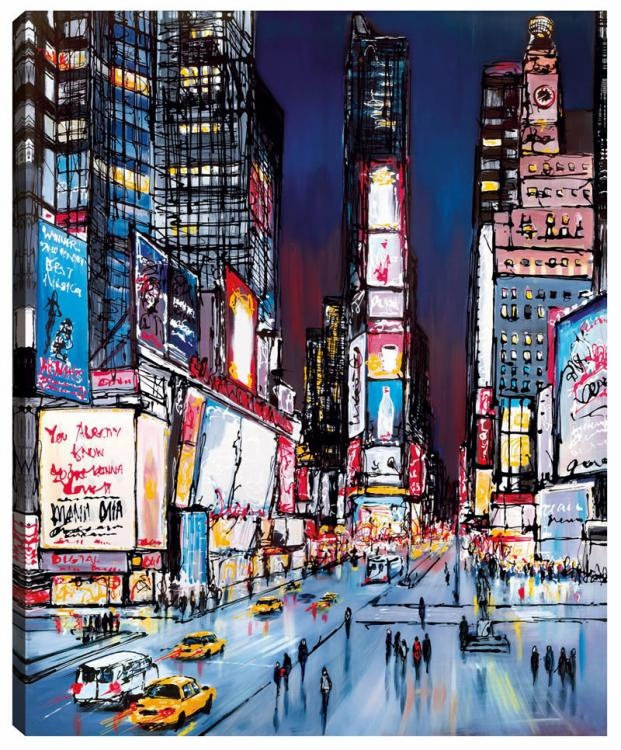 'New York, I Love You' by Paul Kenton. Available at www.artworx.co.uk
