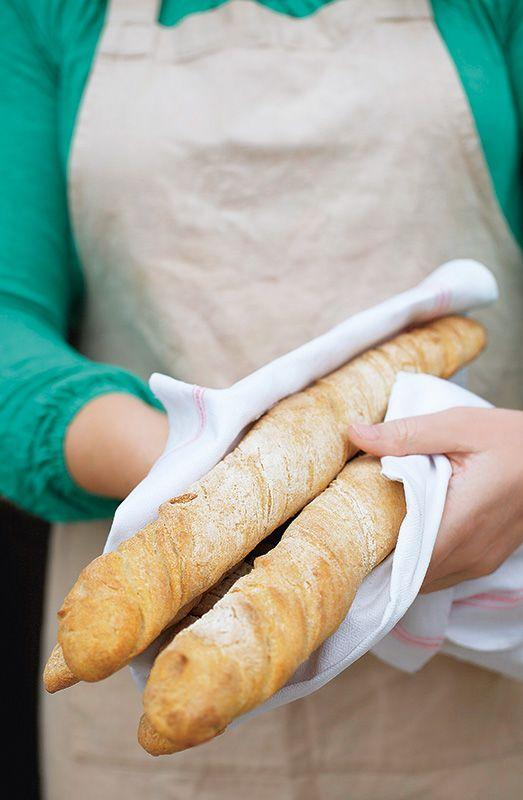 Glutenfreies Baguette