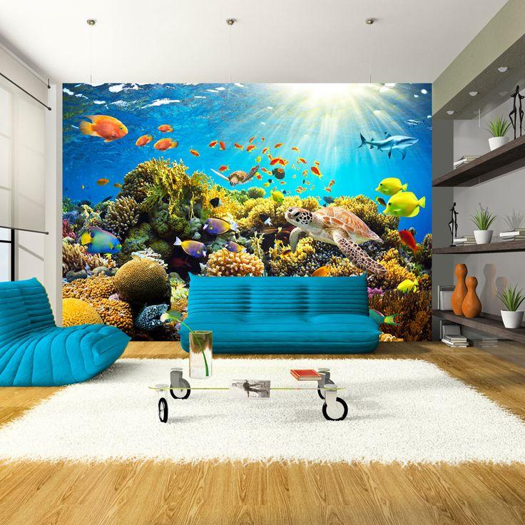 Vlies Tapete Top Fototapete Wandbilder XXL 350x256 cm