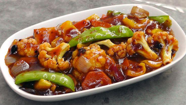 Das ist ein schönes Rezept aus dem Süd-Westen Chinas. Knackiges blanchiertes Gemüse in einer würzigen Soße aus der Szechuan Region.