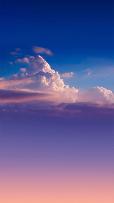 Sunset Golden Hour Clouds IPhone 6 Wallpaper