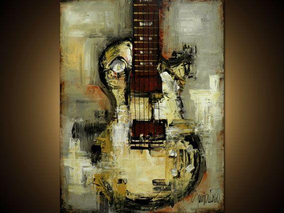 Original Painting  Modern Abstract Art by SLAZO  30x40 by SlazoArt  Abstracción