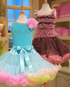 Soooo making these twirly tutus for all the little princesses