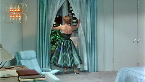 Joan Crawford's bedroom in the movie TORCH SONG