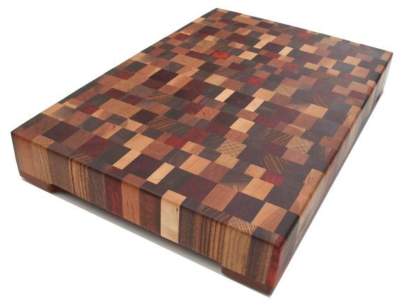 beautiful end grain multiwood cutting board by scottblocks. Black Bedroom Furniture Sets. Home Design Ideas