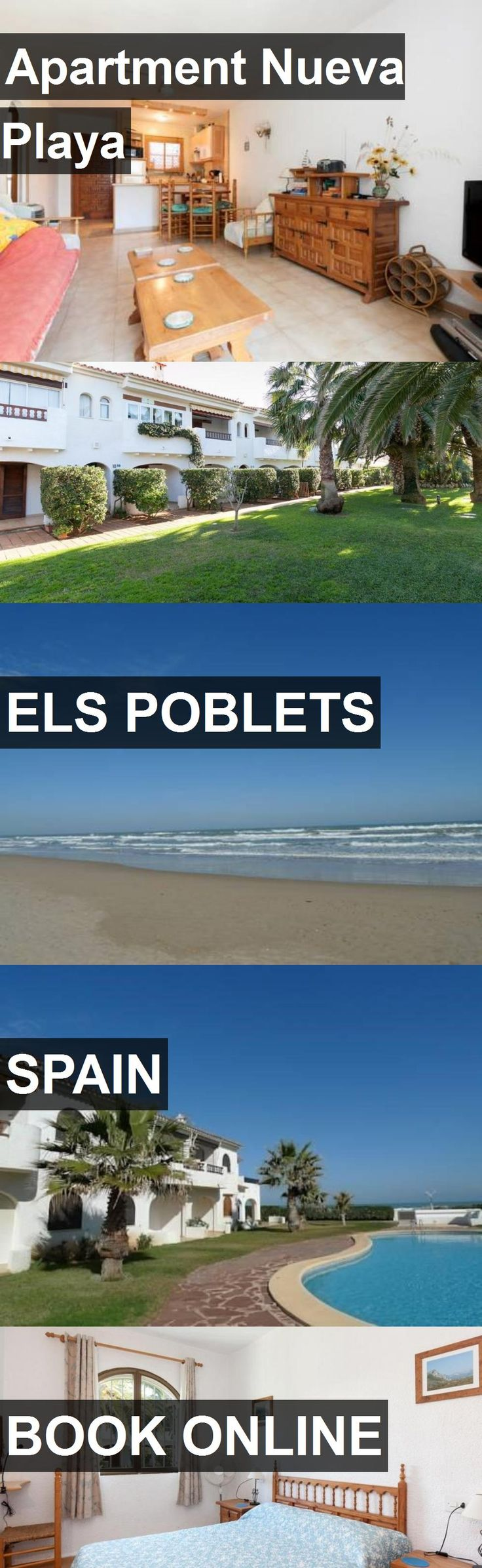 Apartment Nueva Playa in Els Poblets, Spain. For more information, photos, reviews and best prices please follow the link. #Spain #ElsPoblets #travel #vacation #apartment