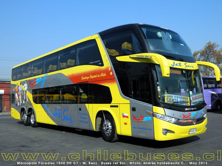 Marcopolo Paradiso 1800 DD G7 - M. Benz | Buses Jet Sur