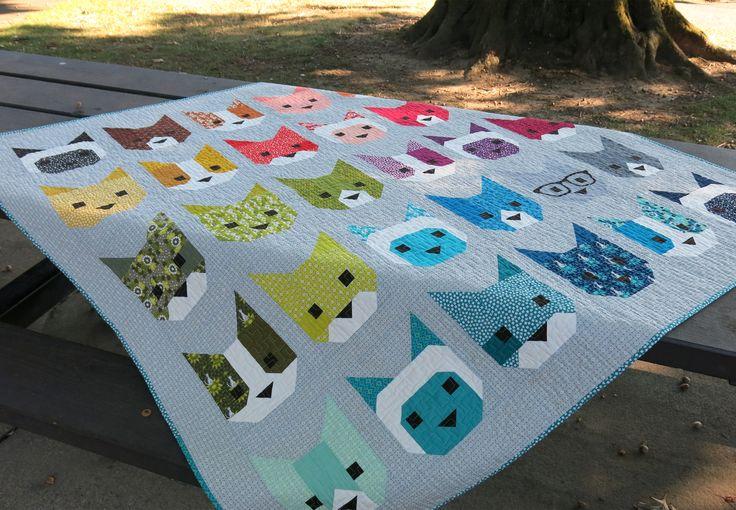 Animal Prints Quilt Blocks