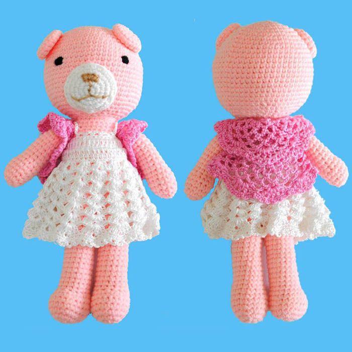 227 Best Amigurumi Bears Images On Pinterest Crochet Toys