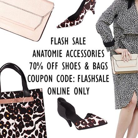 ANATOMIE AW14 Flash Accessories Sale