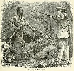 """Nathaniel """"Nat"""" Turner (October 2, 1800 – November 11, 1831) was an American slave who led a slave rebellion in Virginia on August 21, 1831 that resulted in 60 white deaths and at least 100 black deaths, the largest number of fatalities to occur in one uprising prior to the American Civil War in the southern United States."""