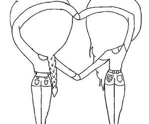 نتيجة بحث الصور عن we heart it bff chibi template