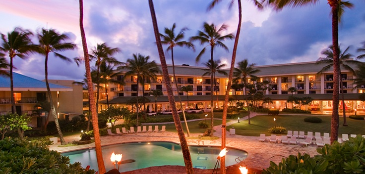 Kauai Beach Resort!! I will be there in 13 days!!!!! So excited :)