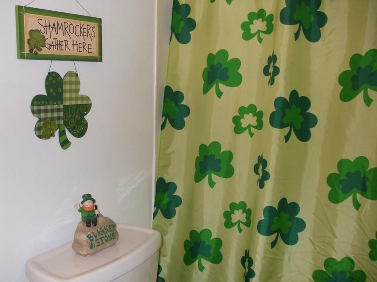 St. Patrick's Day Bathroom