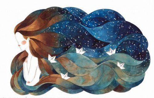 mujer-oceano-en-el-cabello momentos de dificultad