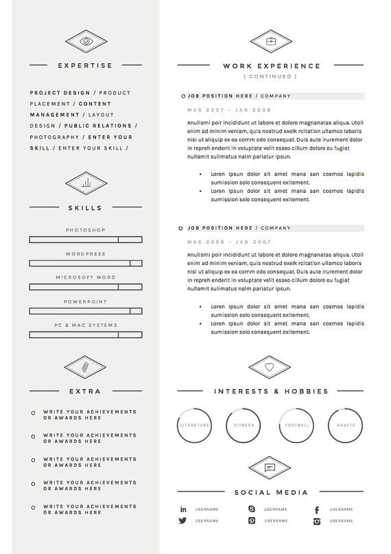 39 best CV writer, curriculum images on Pinterest Resume - resume template google drive