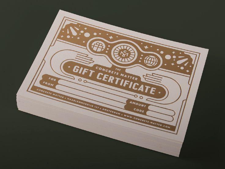 Concrete Matter Gift Certificate