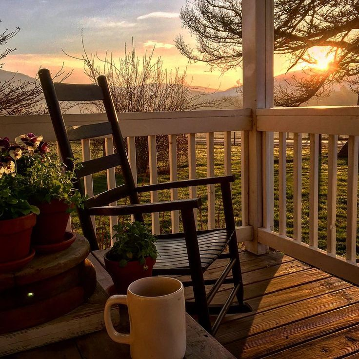 Here's to Spring sunrises, foggy mornings and coffee on the porch. Happy Saturday friends! I'll be taking care of a preemie lamb today.…