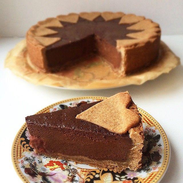 #мусс #шоколад #пирог #pie #chocolate #mousse
