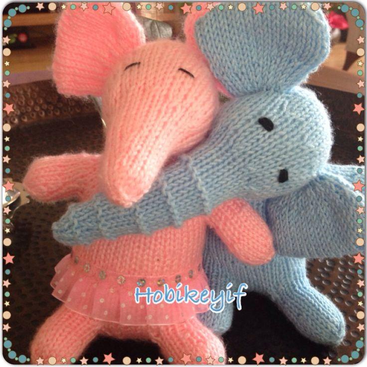 HobbyJoyDesign (HobiKeyif): Beş Şiş ile Örgü Oyuncaklarım (My Knitted Toys wit...