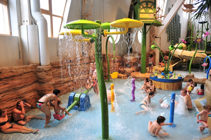 Aquariaz - water park in Avoriaz ski resort : pools, spa, Jacuzzi