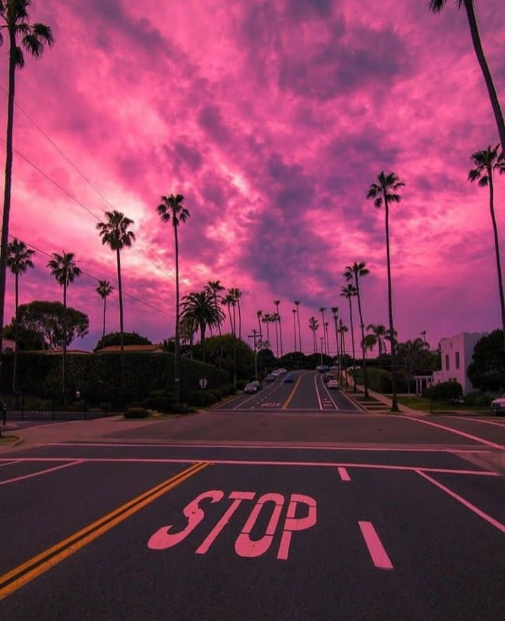 Pink Sky💓 in 2020 | Black aesthetic wallpaper, Photo wall ...