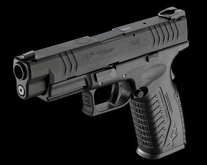 Springfield Armory XDM 45   This is my personal carry weapon and I love this hand gun