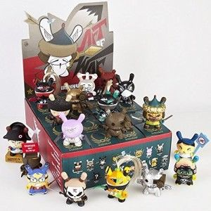Dunny Series 2014 Art of War 3″ Blind Box (Styles Vary) Vinyl Figure They all have very unique characteristics and stories that are told through the art itself.