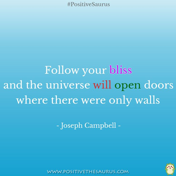 Inspirational quote by Joseph Campbell  http://www.positivethesaurus.com/  #positivesaurus #inspirationalquotes