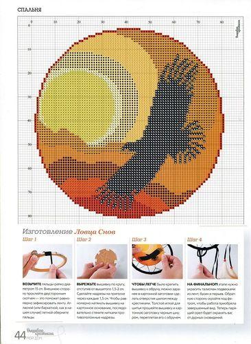 Eagle Dreamcatcher chart