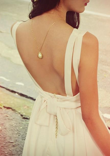 Backless Blush Dress: Backless Shirt, Backless Beautiful, Backless Dresses, Backwards Necklaces, Bridesmaid Dresses, Backless Blushes, Cameo Necklaces, The Dresses, Blushes Dresses Bridesmaid