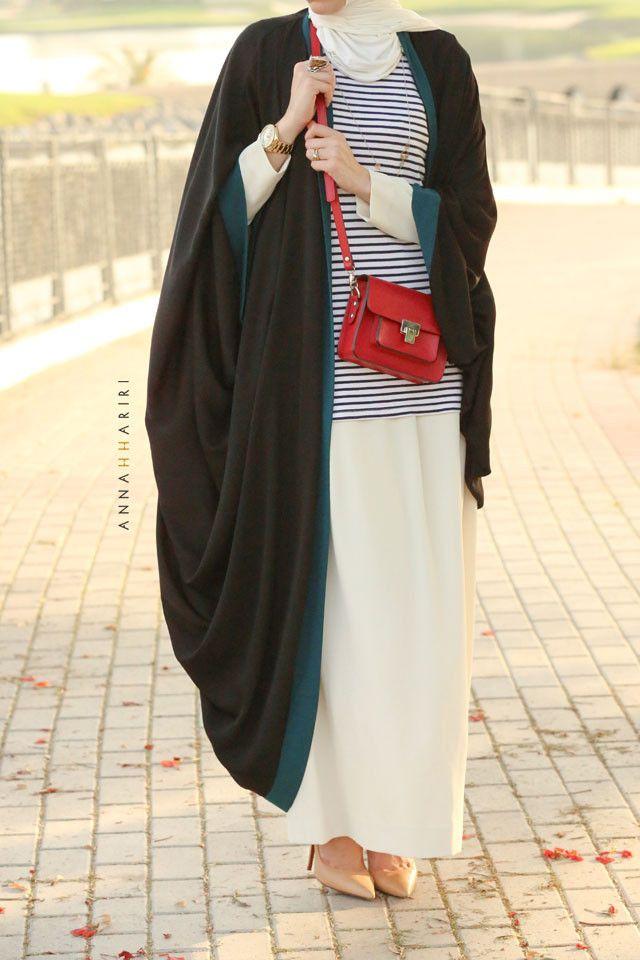 Cape abaya | ANNAH HARIRI | High End Modest Women's Clothing