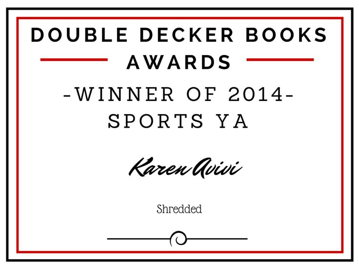 Winner of 2014 Sports YA is...