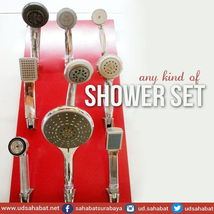 Shower Head, Shower set, Shower mandi jual toko bangunan surabaya - Kamar mandi yang bagus tidak hanya bersih terawat saja tapi juga harus LENGKAP dengan perlengkapannya yang memudahkan aktivitas memanjakan diri kita.  Segala macam peralatan kamar mandi lengkap, mulai dari water heater,wastafel, shower mandi , bathtub,kaca ,aksesori kamar mandi dll sampai keramik/ granit terbaik sesuai budget anda, dapatkan hanya di : - - - - - - - - - - - - - - - - - - - -  UD.SAHABAT jl.Baliwerti 72…