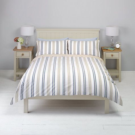 Buy John Lewis New England Striped Bedding Online at johnlewis.com