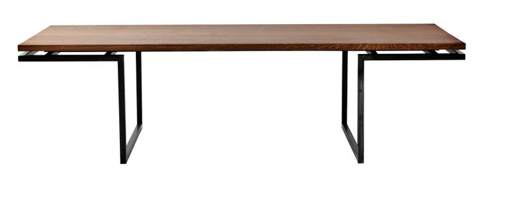 Miles dining table by Miles & May Furniture Works          | Dwell