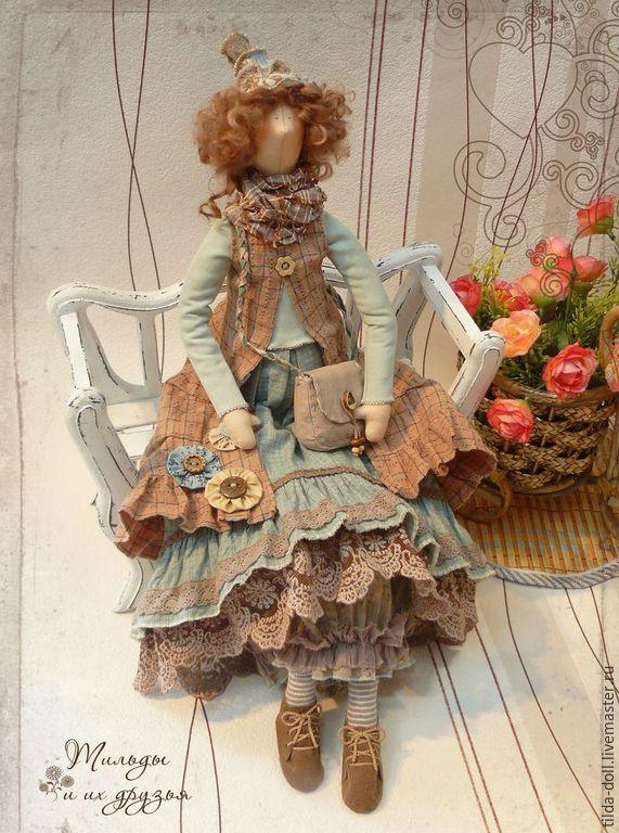 Купить Кукла в стиле Бохо: Фрейя ( Бохо Шик) - тильда, кукла Тильда