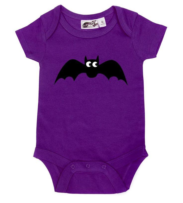 Baby Bat Purple One Piece