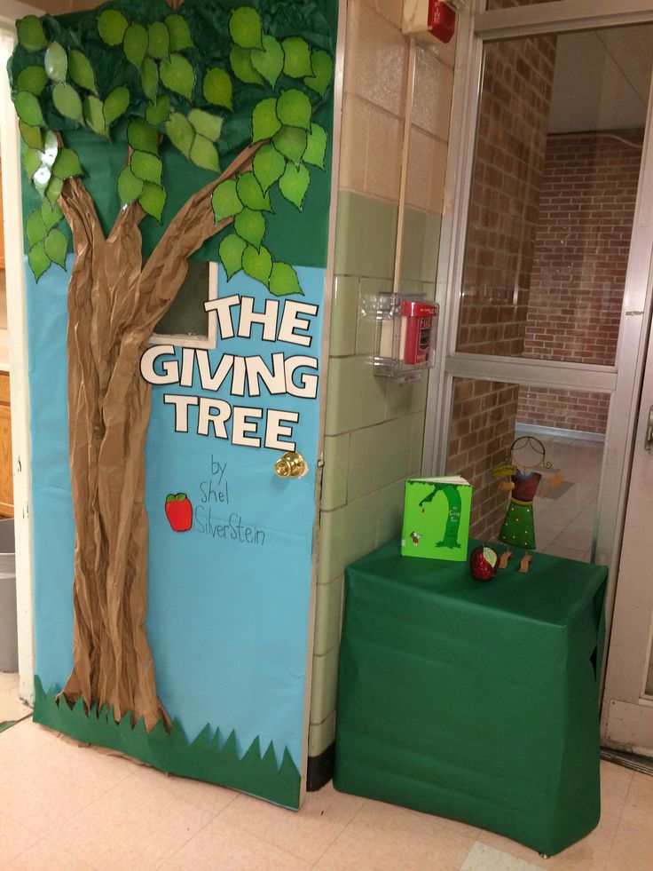 Door Decoration - The Giving Tree by Shel Silverstein