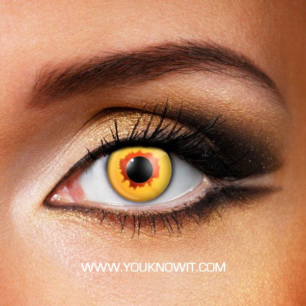 1187 best Yellow Contact Lenses images on Pinterest