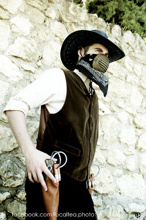 A Steampunk Cowboy Cagliari, Sardinia  Grande Jatte III Edition