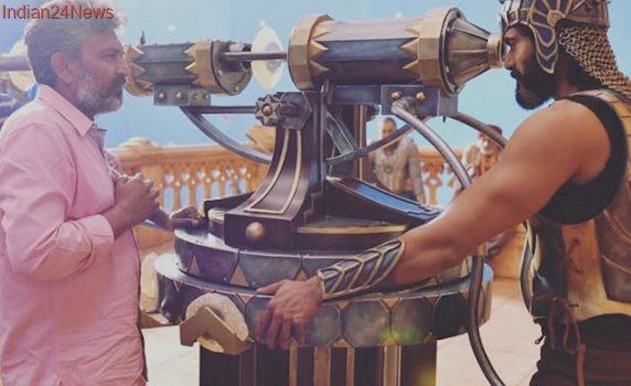 Baahubali 2: Pics Of Prabhas, Rana Daggubati On Set Are Going Viral