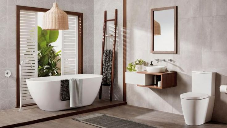 how to get your own The Block-inspired bathroom at home