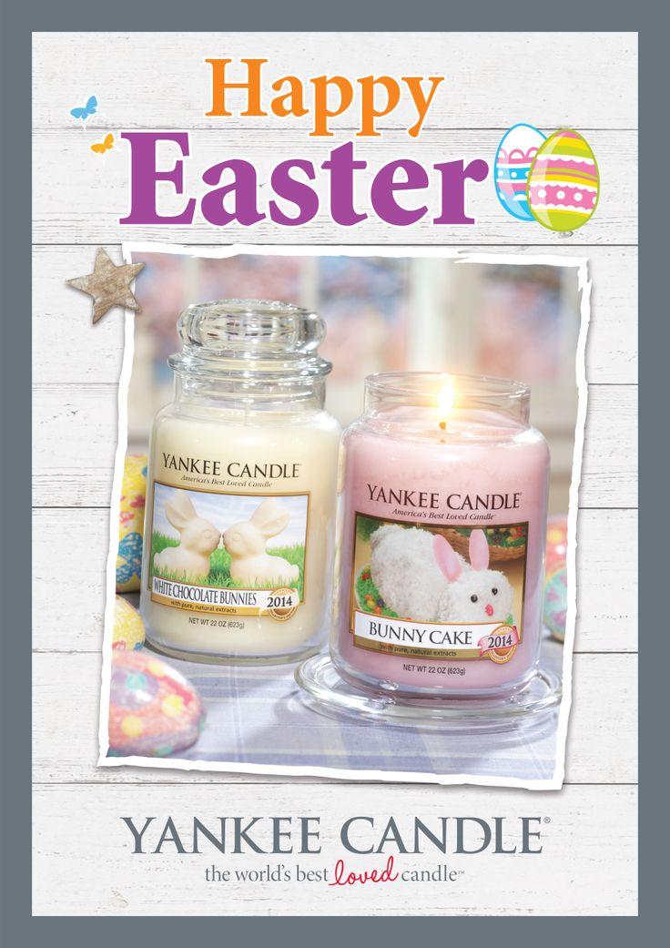 Glad Påsk önskar vi på www.yankeecandle.se  En sista godsak i påskägget? White Chocolate Bunny  En riktig påskäggsklassiker - söt, krämig vit choklad med en liten gnutta vanilj.   Collector´s Edition 2014, finns i begränsad upplaga.   Läs mer på http://www.yankeecandle.se/ProductView.aspx?ProductID=2548 #YankeeCandle #WhiteChocolateBunnies