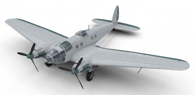 Airfix byggesett 1/72 Heinkel He.111 P-2 A06014 | Kjøp leker og hobby på nettet! Bilbaner, lego og radiostyrte biler, droner, båter og helikoptre
